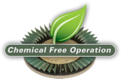 Chemical free operation